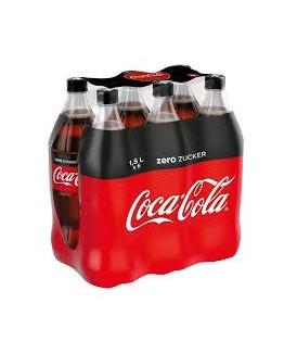 Coca zéro 6x1.5L