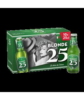 Blonde 25 10x25cl