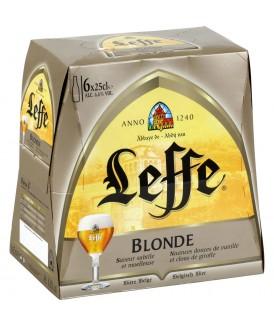Leffe Blonde 6x25cl