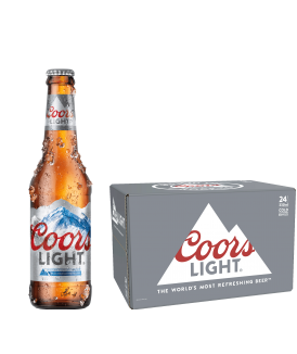 Coors light 24x33cl